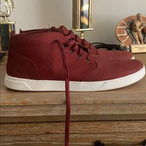 Men's Red Timberland Boot